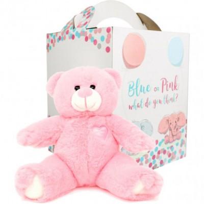 Princess Gender Reveal Bear-Pink