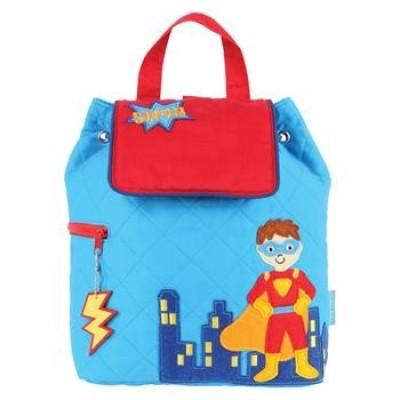 Childrens Personalised Backpack-Super Hero Design