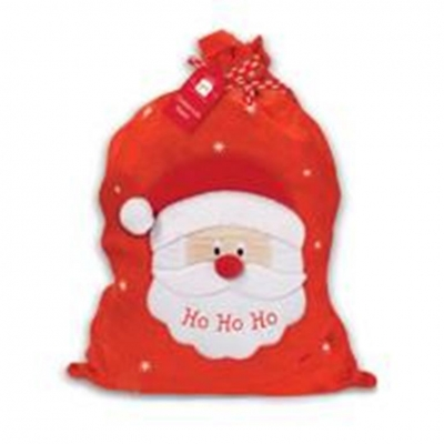Personalised HO HO HO Santa Sack