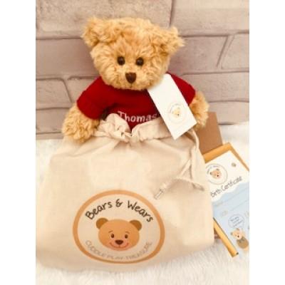 Personalised Send A Hug Teddy Bear
