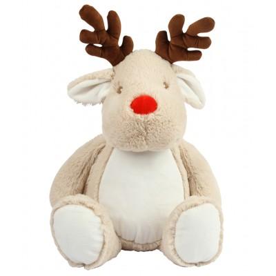 Personalised Reindeer Teddy Bear
