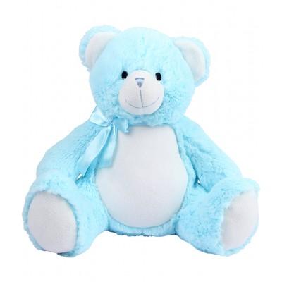 Personalised  New Baby  Teddy Bear Blue