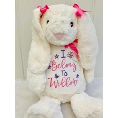 Personalised  Bunny- Teddy Bear