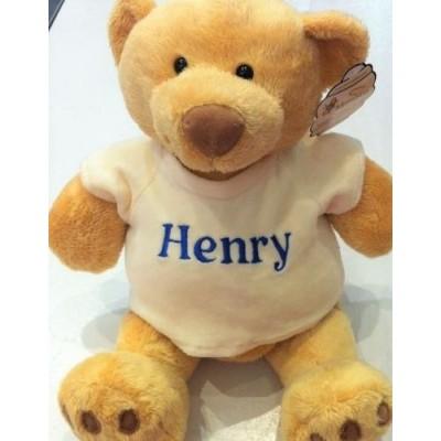 Personalised Send A Hug Honey Bear