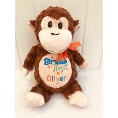 Personalised Monkey- Teddy Bear