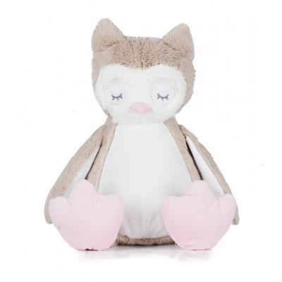 Personalised New Baby Owl Teddy Bear