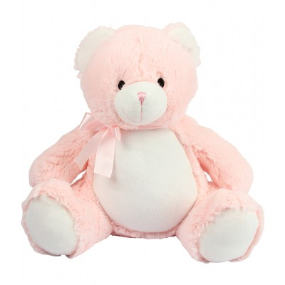 Personalised New Baby Teddy Bear Pink
