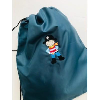 Personalised Pirate Swim/ Gym Bag