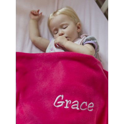 Personalised Baby Blanket- Name Only