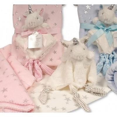 Personalised Blanket And Comforter Unicorn