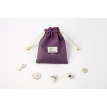 Tales From The Earth silver life's charms keepsakes pouch