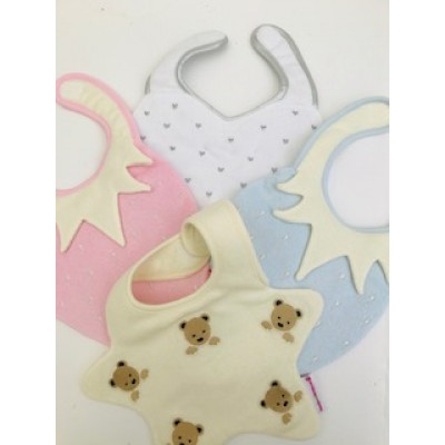 Personalised Dribble bibs By Beauty And The Bib