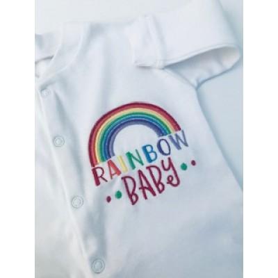 Rainbow Baby Sleepsuit