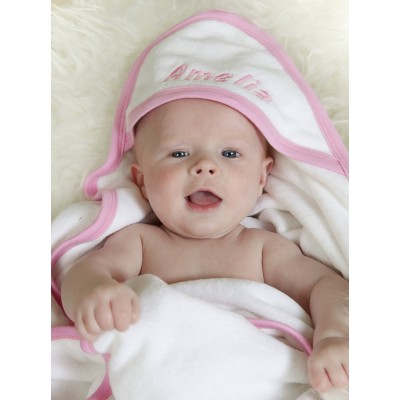 Personalised Hooded Towel New Baby Gift