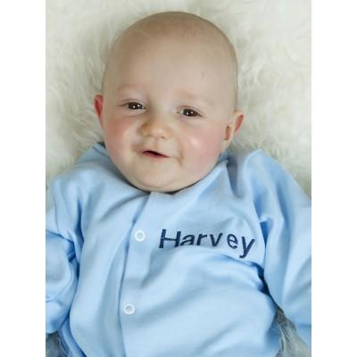 Personalised sleepsuit baby girl- boy
