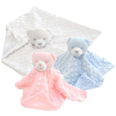Personalised Popcorn Teddy Bear Comforters