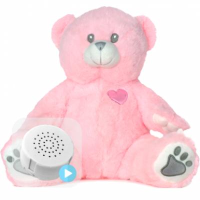 Pink Bear Baby Heartbeat Bear